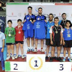 Campionati Italiani di Categoria. Mannarino e Toniolo d'oro nel doppio maschile di 4^ categoria