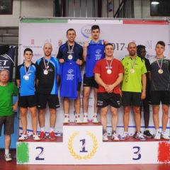 Campionati Italiani di Categoria. Giacomo Moro conquista il bronzo nel doppio maschile 2^