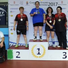 Campionati Italiani Veterani. Franca Silvestri è d'argento nel singolo over 50!