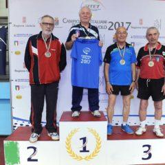Campionati Italiani Veterani. Anche Ceroni d'argento, ma Danti è d'oro in doppio!