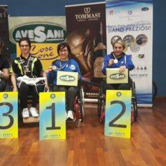 Torneo nazionale paralimpico di Verona. I numeri parlano veneto