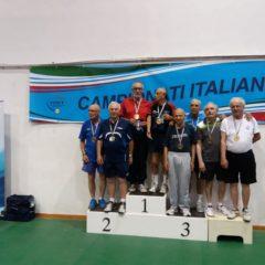 Sergio Ceroni Campione Italiano Over 75