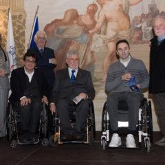 Benemerenza paralimpica per Federico Crosara