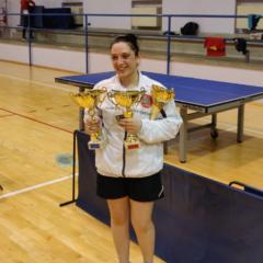 Campionati Veneti Assoluti. Triplete di Marina Nikolic, titolo maschile a Emanuel Gaybakyan