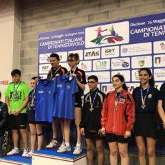 Prime medaglie dai campionati Italiani 2019