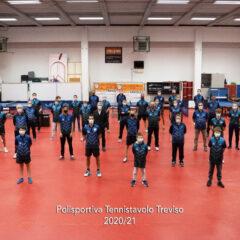 Tennistavolo, la Polisportiva Treviso A è ripescata in B1 maschile