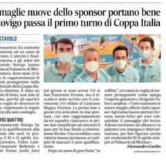 Rovigo  passa i primo turno nella 3^ ed. di Coppa Italia Veneto